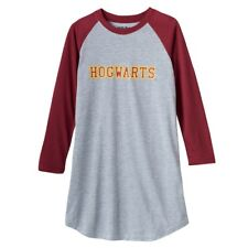 "Harry Potter ""Hogwarts"" Dorm Nightgown Size 8 - 10/12 - 14/16 NWT"