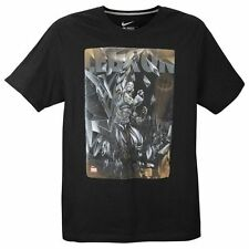 "Nike LeBron James ""Lebron Is Carbonado"" Dri-Fit T-Shirt Black Large XL 2XL BNWT!"