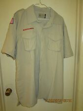 BSA/Cub, Boy & Leader Scout Newest Vented Back Uniform Sht.Slv. Shirt-Adult -0