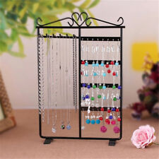 Earrings Ear Studs Necklace Chain Jewelry Display Holder Stand Organizer Rack