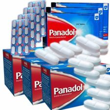 Panadol 500mg  144 Tablets Pain Killer Headache Fever Cold  Toothache