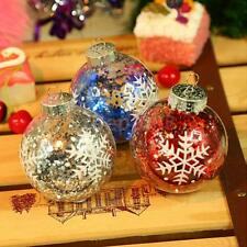 Modern Christmas Decorations Tree Ball Hanging Ornament Xmas Baubles Craft