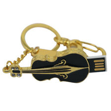 4-64GB Violin Pen Drive U Disk Slim Gift Flash Stick Memory USB for Notebook