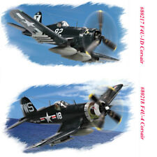 HobbyBoss 80217 80218 1/72 F4U-1D/F4U-4 Corsair Fighter Assembly Aircraft Model