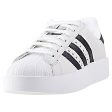 adidas Superstar Bold Womens Trainers White Black New Shoes