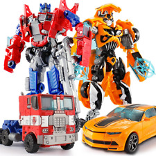 Classic Transformers Movies Robot Cars Action Toy Figures Kids Education Gift