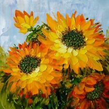 """Modern Abstract Hand-painted Oil Painting Sunflower 20""""x20"""" /NO Frame"""