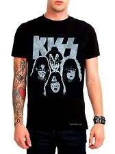 Kiss Band Rocks T-Shirt heavy metal hard rock Official M L XL NWT