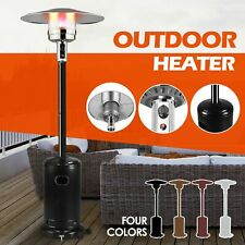 Garden Radiance Outdoor Patio Heater Stainless Steel Propane Standing LP Gas