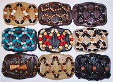 """Double Magic Hair Combs, Angel Wings Clips 4x3.5"""", African Butterfly, Quality S9"""
