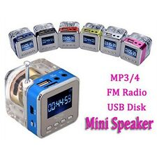 Digital FM Radio Portable Speaker Micro SD/TF USB Disk MP3 Internet  SD/TF Card