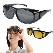 Nice Over Wrap Around Glasses Unisex Driving Sunglasses HD Night Vision Fashion