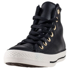 Converse Chuck Taylor All Star Hi Fur Womens Trainers Black New Shoes