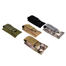 military tactical magazine pouch knife flashlight sheath airsoft hunting bag*_*
