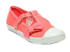 Infant Toddler Baby GIRLS TRAINERS Pumps Canvas Shoes Plimsoles Size 4 - 12