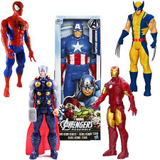 "12"" The Avengers Action Figure Marvel Captain Spider-Man Iron Man Thor Xmas Gift"