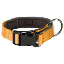 Trixie Experience Dog Collar Extra Wide Yellow, Various Sizes, NEW