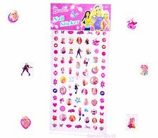 BARBIE NAIL & EARRING STICKERS Girls Birthday Party Gift Bag Filler HELLO KITTY