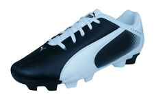 Puma Adreno FG Boys Leather Soccer Cleats / Football Boots - Black