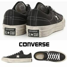 Converse By John Varvatos One Star Sneakers Black 145368C Sz 3-12 Limited