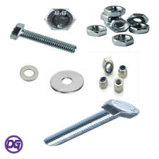 Assorted M6-M12 Full Thread Set Screw Grade 8.8 Zinc Hex Head Bolts/Nuts/Washers