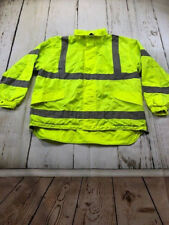 Reflective Safety Jacket Snap N Wear ANSI III Compliant System Outer Shell  677T