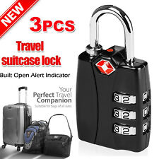 ULTRA-Tough Metal Custom 3 Digital Combination Lock TSA Luggage Suitcase PadLock