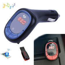Wireless FM Transmitter Modulator Car MP3 Player TF SD Flash Drive USB Charger