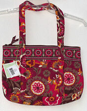 Vera Bradley LARGE BETSY Handbag Shoulder Bag.  Choice of Carnaby or Mesa Red