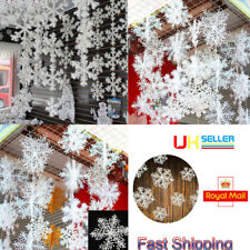 Christmas Gifts Party White Snowflake Charms Festival Ornaments Decoration 2017