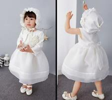 Vintage Newborn Baby Girl Christening Princess Dress Toddler Lace Baptism Gown