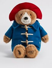 M&S ADVERT LONDON PADDINGTON BEAR  SOFT TOY/TEDDY LIMITED EDITION/COLLECTABLE