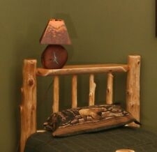 MONTANA LOG HEADBOARD Rustic- FREE SHIPPING! Log Headboard Cabin Decor!