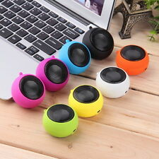 Mini Portable Hamburger Speaker Amplifier For iPod iPad Laptop iPhone Tablet LO