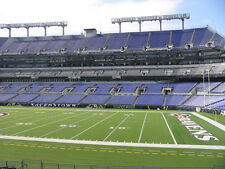 2 Lower Level Tickets Baltimore Ravens vs Indianapolis Colts Saturday 12/23/17