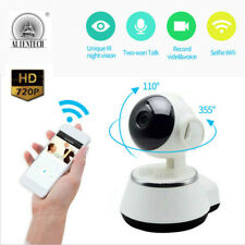 HD 720P WIFI Wireless Network Pan Tilt Home CCTV Security IP Camera Night Vision