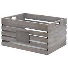 NEW Bouclair Fresh Cove Wooden Crate By Spotlight