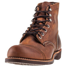 Red Wing Iron Ranger Mens Boots Copper New Shoes