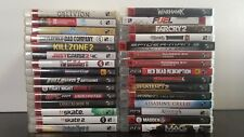 Sony Playstation 3 PS3 Game Lot of 30 Games (You Pick)
