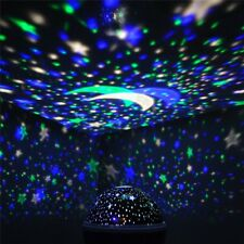Romantic 4 LED Starry Night Sky Galaxy Projector Lamp Star light Cosmos Gift New