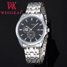 Top Luxury Brand Mens Business Quartz Steel Band Waterproof Date Male Wristwatch