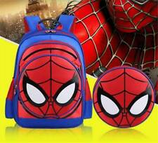 Cartoon Kid Child Spiderman Student Shoulder SchoolBag Kindergarten Backpack