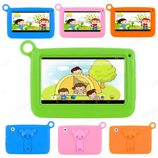 7'' Google Android 4.4 Tablet PC Quad Core 8GB Webcam For Kids Child Children HD