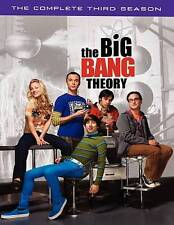 The Big Bang Theory: The Complete Third Season (DVD, 2010, 3-Disc Set) EUC