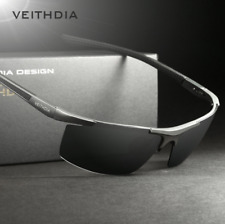 VEITHDIA Aluminum Magnesium Mens Sunglasses Polarized Coating Mirror Sun Glasses