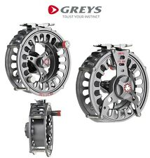 Greys GTS 800 Fly Reel All Sizes Trout Salmon Pike Fly Fishing Aluminium Reel