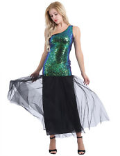 Women Sequins Mermaid Evening Dress Dress Long Formal Prom Cocktail Party Prom