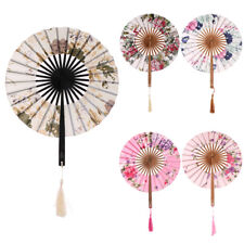 Hand Folding Fans Chinese Japanese Vintage Retro Style Home Decor Dance Fans