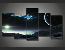 Universe Planet Space canvas room wall art canvas Framed UNframed