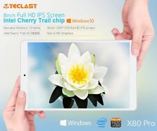 "Teclast X80 Pro Tablet PC 8"" Win 10 + Android 5.1 Quad Core 2+32G WiFi BT 4.0 SM"